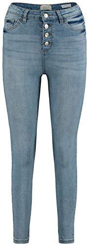 Hailys Romina Frauen Jeans hellblau XL 76% Baumwolle, 22% Polyester, 2% Elasthan Basics, Streetwear