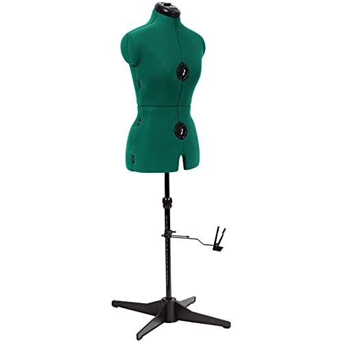Dritz Sew You Adjustable Dress Form, Small, Opal Green