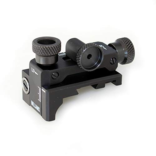 Williams Gun Sight FP-AG Receiver Peep Sight with Target Knobs, Black (14170)