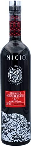 INICIO Tequila Añejo – Jaguar 40% Vol. (1x 700ml) | 100% Agave Azul | Spirituose aus Mexiko mit dem Jaguar | 22 Monate im französischen Eichenfass