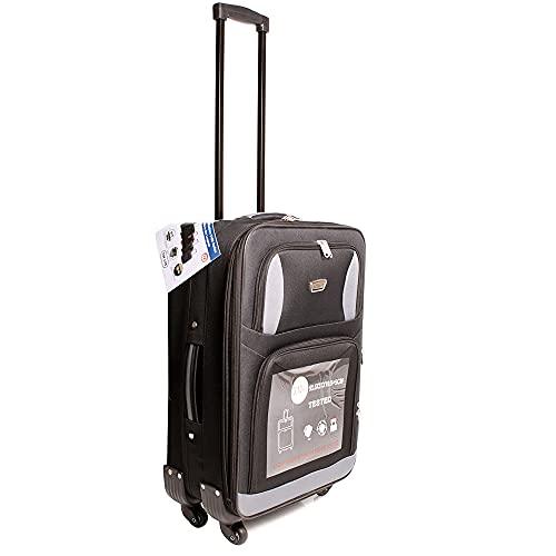Black Pink Aero Travel Collection 2100 Series Top Lite Diamond Set de 5 maletas - Bolsa de viaje