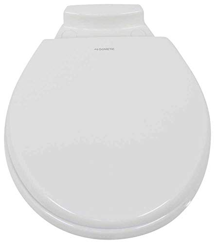 Dometic 385312073 Replacement Slow Close Wooden Seat/Cover for 310 Series Gravity-Flush Toilet - White