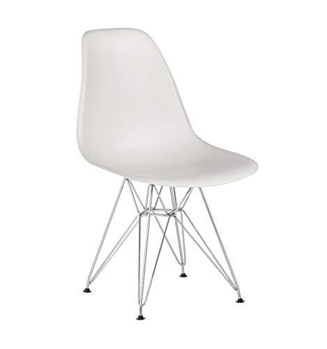 Icons Corner Pack 4 sillas Blanco IMS Modelo Eiffel