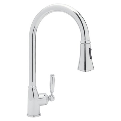 Rohl MB7928LMAPC-2 Pull-Down FAUCETS, 12.4-in L x 4.8-in W x 18-in H, Polished Chrome