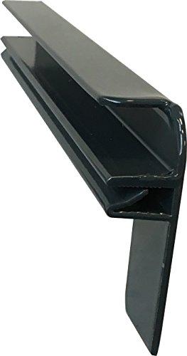 Fensterbank Putz Seitenteile 110 mm in Anthrazit