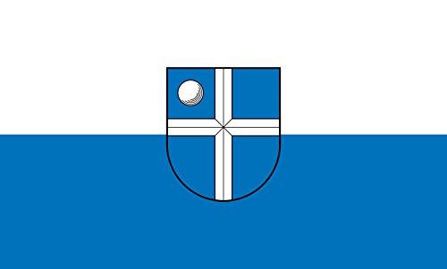 Unbekannt magFlags Tisch-Fahne/Tisch-Flagge: Bruchsal 15x25cm inkl. Tisch-Ständer