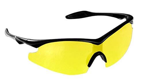 Bell+Howell NIGHT VISION Sunglasses for Men/Women, Military-Inspired As Seen On TV (Yellow)