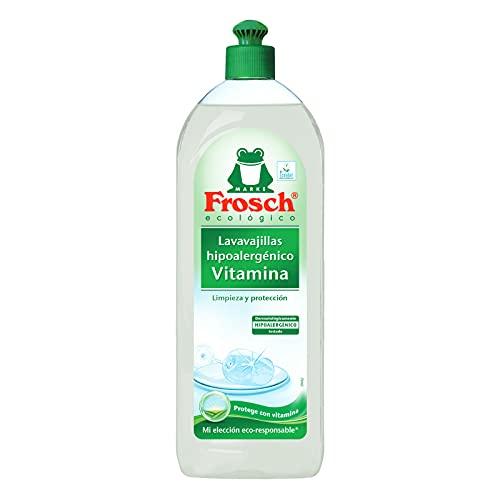 Frosch Lavavajillas a Mano Vitaminas - 750 ml