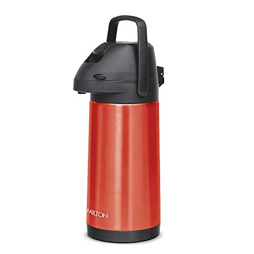 Milton Pinnacle 3000 Thermosteel 24 Hours Hot or Cold Dispenser, 3060 ml, Red