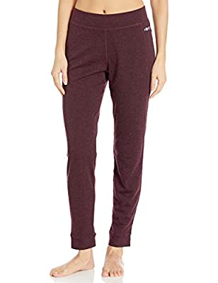 Carhartt Women's Force Heavyweight Thermal Base Layer Pant, Deep Wine Heather, X-Small