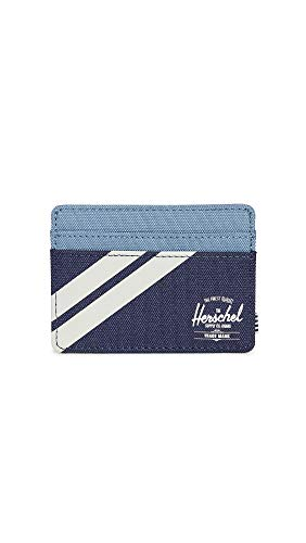 Herschel Supply Co. Men's Charlie RFID Wallet, Peacoat/Blue Mirage/Pelican, One Size
