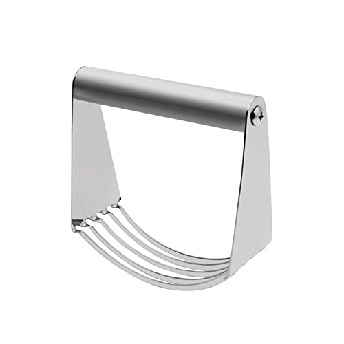 Stainless Steel Pastry Cutter Multipurpose Bench Scraper Great as Dough Cutter for Pastry Butter and Pizza Dough Smooth Baking Dough Tools