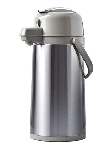 Jingyinyi Clear waterdruk type thermoskan, huishoudelijke glas liner thermoskan, roestvrij staal duurzaam