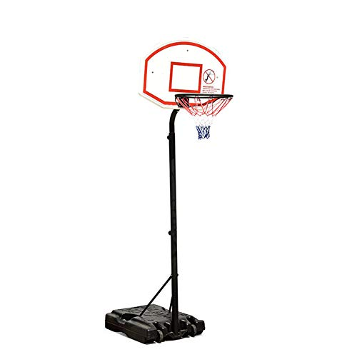 HFRTKLSAW Soporte de tablero, juego de baloncesto ajustable para niños, juego deportivo ajustable para interiores y exteriores