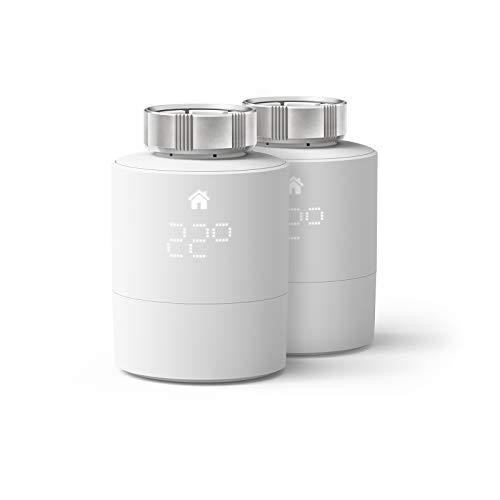 tado° Smartes Heizkörper-Thermostat (Universelle Anbringung) - Duo Pack, Zusatzprodukte für Einzelraumsteuerung, Einfach selbst zu installieren