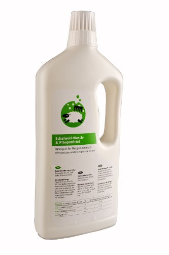 Kaiser Naturfelle 98000 Waschmittel mit Lanolin, 1000 ml