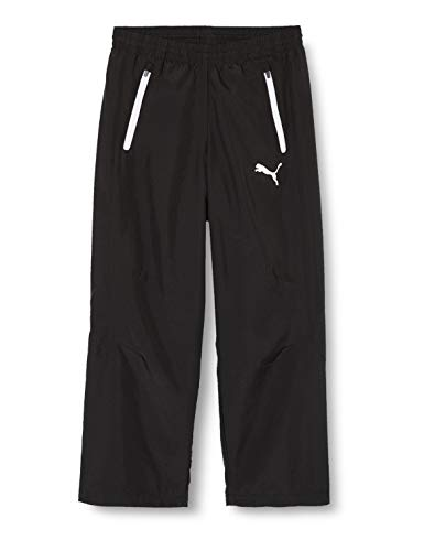 Puma Kinder Leisure Pant Jogginghose, black-white, 164
