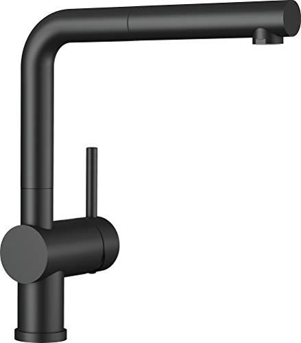 Blanco 525807 Linus keukenkraan, zwart mat