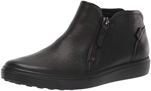 ECCO Damen Soft 7 Ladies Stiefeletten, Schwarz (Black 1001), 42 EU