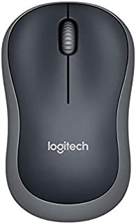 Logitech罗技 M185 无线鼠标  schwarz grau