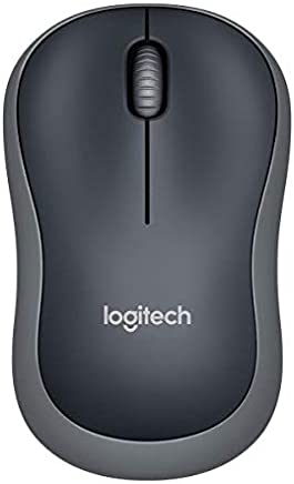 Logitech M185 schnurlos Maus (USB, kompatible mit Windows, Mac, Linux) grau