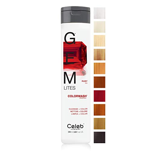 GEM LITES COLORWASH SHAMPOO RUBY by GEM LITES