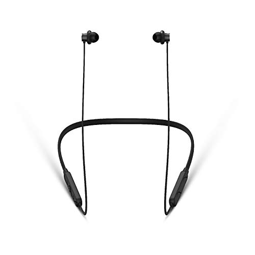 Germany's Blaupunkt BE50 IPX5 Neckband Bluetooth Earphone Wireless Comfort fit at 45* with HD Sound and High Sensitivity Mic (Black)