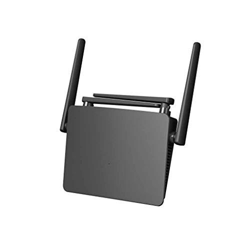 QPALZM Enrutador Inteligente Gigabit Wi-Fi, 3x3 MU-MIMO WiFi de Alto Rendimiento, formación de Haces, conexión Inteligente,3 Puertos Gigabit, 4 Antenas externas, tecnología OFDMA multiusuario