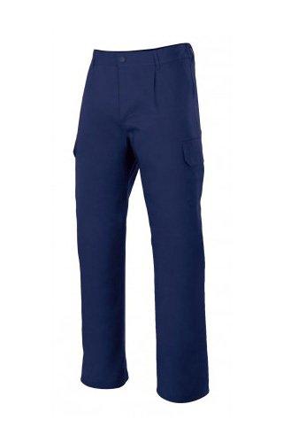 Velilla 345 Pantalones, Azul Marino, Talla 44