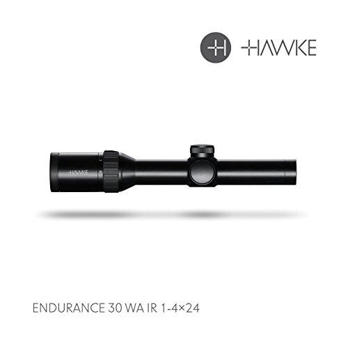 Hawke Endurance 30 WA 1-4x24 L4A Dot Model 2018 Zielfernrohr, schwarz, M