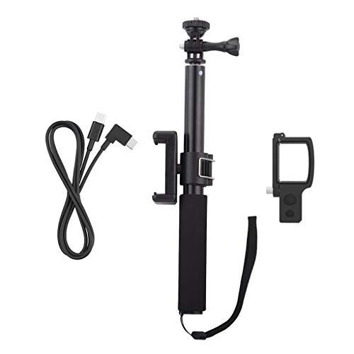 JOYKK 1 Set Extension staaf Selfie Stick Fixing Module met Telefoon Montage Beugel Clip Data Kabel voor Camera Kit