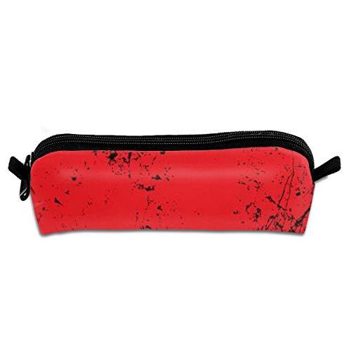 Potlood doos, Grunge stijl Halloween met bloed platen, Pen Case Make-up opslag tas, Office College School studenten briefpapier