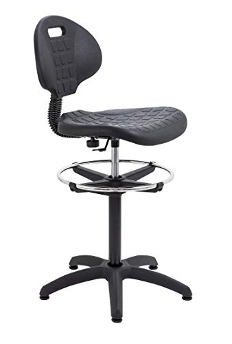 Office Hippo Laboratory Factory Chair with High Rise Adjustable Draughtsman...