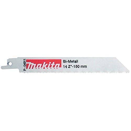 Makita P-04911 Reciprocating Saw Blades - Flexible Cut Metal