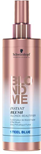 BLONDME Instant Blush Blond Beautifier Spray, Steel Blue, 8.4 Fluid-Ounce