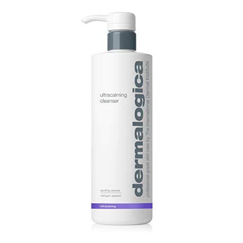Dermalogica Ultracalming Cleanser (16.9 Fl Oz) Gentle Non-Foaming Face Wash for Sensitive Skin - No Artificial Fragrances or Colors