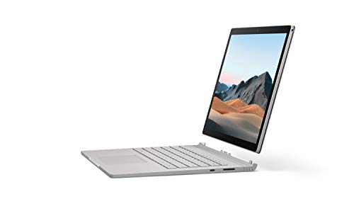 "Microsoft Surface Book 3 - Ordenador portátil convertible 2 en 1 de 13"" Full HD (Intel Core i5-1035G7, 8 GB RAM, 256 GB SSD, Windows 10 Home) platino - Teclado QWERTY Español"