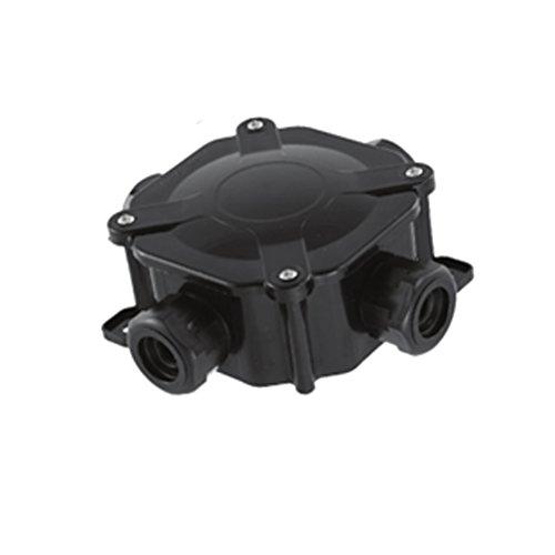Abzweigdose Abzweigkasten IP67 schwarz Verteilerdose Klemmdose Feuchtraum IP 65 55