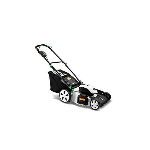 Recoger eléctrica Hover Segadora - 1400W, 220V, 45 cm Ancho de corte, 60L Caja Hierba, manijas ambidextros, Florida Características Folds tSpace ahorro de almacenamiento ZHNGHENG