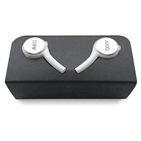 SAMSUNG EO-IG955 Earphones Tuned by AKG/Galaxy ギャラクシー イヤホン [並行輸入品] バルク品【S10付属純正イヤホン】SamsungロゴS9, S8他 (White(白))