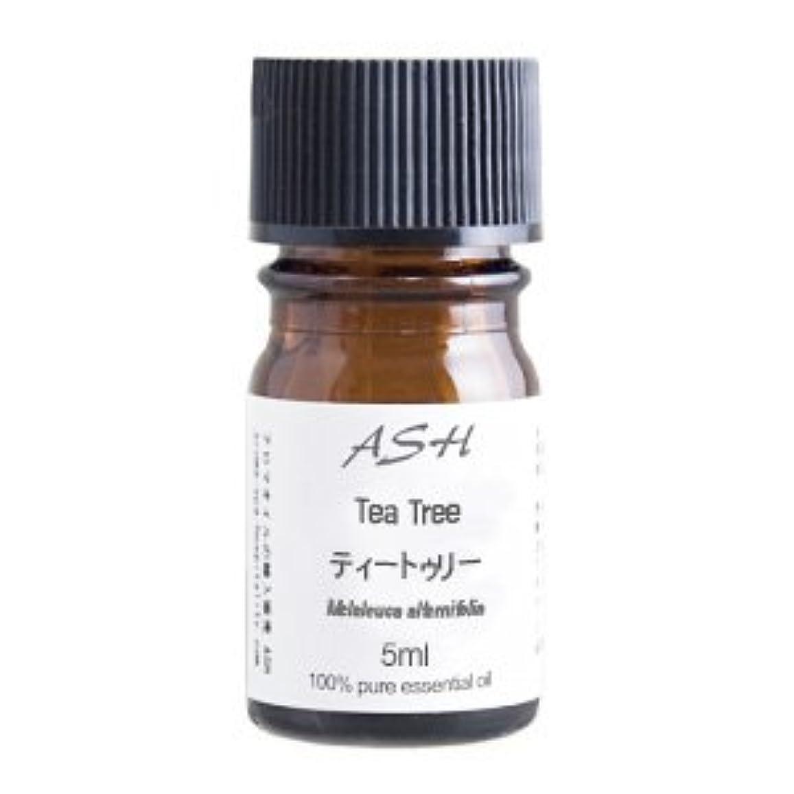 ビル多様性エジプト人ASH ティートゥリー (ティーツリー) エッセンシャルオイル 5ml AEAJ表示基準適合認定精油