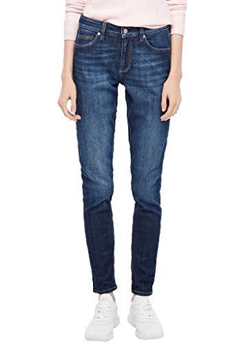 Q/S designed by - s.Oliver Damen Skinny Fit: Super skinny leg-Denim dark blue 36.32