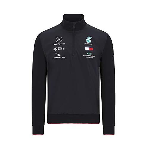 Mercedes-AMG Petronas Felpa da Uomo Formula 1 2020 Team, Nero, XL, Uomo, 141101062, Nero , M