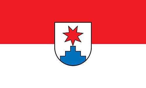 Unbekannt magFlags Tisch-Fahne/Tisch-Flagge: Sternenfels 15x25cm inkl. Tisch-Ständer