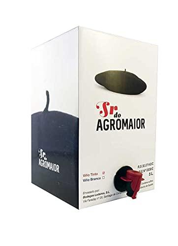 Vino blanco gallego 12% Vol. Baginbox 5L - Sr. do Agromaior