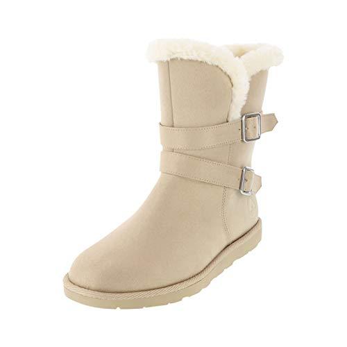 Airwalk Stone Suede Women's Nia Cozy Boots 7.5 Regular