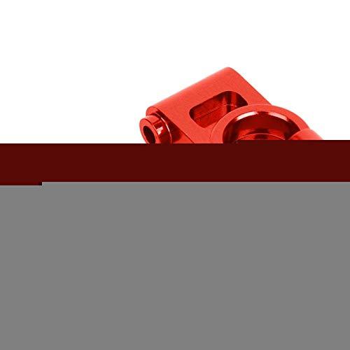 LIZONGFQ Accesorio para Coche RC con buje Trasero RC de tamaño Compacto, 2 Piezas para Coche 1/10 RC Hobby (Rojo (RS4003-OR)) ( Color : Red (Rs4003-or) )