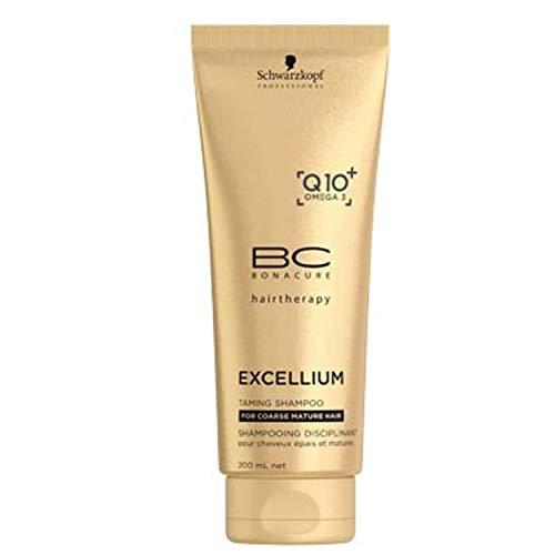 Schwarzkopf BC EXCELLIUM Q10 Taming Shampoo 200ml