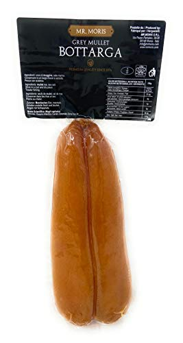 Bottarga de Mullet Mr Moris calidad Premium Kosher Botarga XSmall 50 Gr...
