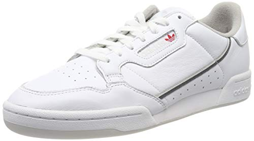 adidas Herren Continental 80 Sneaker, Weiß (FTWR White/Grey Five/Grey One F17 FTWR White/Grey Five/Grey One F17), 44 EU